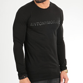 /achat-t-shirts-manches-longues/antony-morato-tee-shirt-manches-longues-sport-the-green-lin-mmkl00271-noir-209274.html