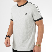 /achat-t-shirts/fred-perry-tee-shirt-a-bandes-taped-ringer-m6347-gris-chine-209381.html