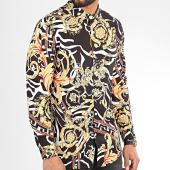 /achat-chemises-manches-longues/john-h-chemise-manches-longues-cy0129-noir-floral-renaissance-209428.html
