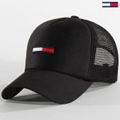 /achat-trucker/tommy-jeans-casquette-trucker-5952-noir-209208.html