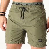 /achat-maillots-de-bain/american-people-short-de-bain-maille-vert-kaki-209719.html