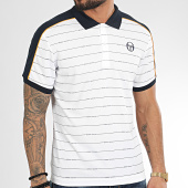 /achat-polos-manches-courtes/sergio-tacchini-polo-manches-courtes-a-rayures-et-bandes-fundi-38638-blanc-209607.html
