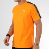 /achat-t-shirts/sergio-tacchini-tee-shirt-a-bandes-feather-38536-orange-209643.html