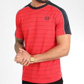 /achat-t-shirts/sergio-tacchini-tee-shirt-a-rayures-et-bandes-fundi-38639-rouge-209663.html