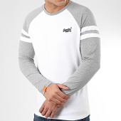 /achat-t-shirts-manches-longues/superdry-tee-shirt-manches-longues-ol-softball-ringer-m6010011a-blanc-gris-chine-209562.html
