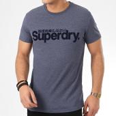 /achat-t-shirts/superdry-tee-shirt-core-faux-suede-m1010103a-bleu-marine-chine-209606.html