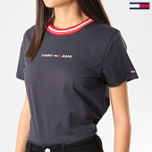 /achat-t-shirts/tommy-jeans-tee-shirt-femme-contrast-rib-bleu-marine-209737.html