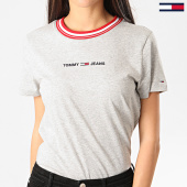 /achat-t-shirts/tommy-jeans-tee-shirt-femme-contrast-rib-gris-chine-209738.html