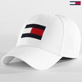 /achat-casquettes-de-baseball/tommy-hilfiger-casquette-big-flag-4508-blanc-209531.html