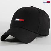 /achat-casquettes-de-baseball/tommy-jeans-casquette-flag-cap-5956-noir-209580.html