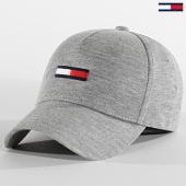 /achat-casquettes-de-baseball/tommy-jeans-casquette-flag-cap-jersey-6081-gris-chine-209592.html