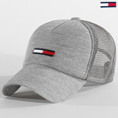/achat-trucker/tommy-jeans-casquette-trucker-jersey-6083-gris-chine-209593.html