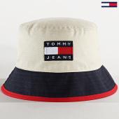 /achat-bobs/tommy-jeans-bob-heritage-6107-beige-bleu-marine-209595.html