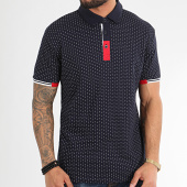 /achat-polos-manches-courtes/american-people-polo-manches-courtes-menez-bleu-marine-209872.html