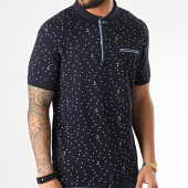 /achat-polos-manches-courtes/american-people-polo-manches-courtes-molpa-bleu-marine-209907.html