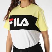 /achat-t-shirts/fila-tee-shirt-femme-allison-682125-blanc-jaune-noir-209803.html