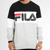 /achat-sweats-col-rond-crewneck/fila-sweat-crewneck-tricolore-688050-straight-blocked-gris-chine-noir-blanc-209834.html
