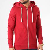 /achat-sweats-zippes-capuche/jack-and-jones-sweat-zippe-capuche-holmen-rouge-209890.html