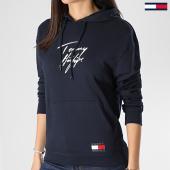 /achat-sweats-capuche/tommy-hilfiger-sweat-capuche-femme-2300-bleu-marine-210045.html