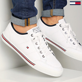/achat-baskets-basses/tommy-hilfiger-baskets-core-corporate-textile-sneaker-2676-white-210071.html