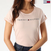 /achat-t-shirts/tommy-hilfiger-tee-shirt-femme-rn-logo-1618-rose-clair-210038.html