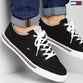/achat-baskets-basses/tommy-hilfiger-baskets-core-corporate-textile-sneaker-2676-black-210069.html