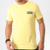 /achat-t-shirts/jack-and-jones-tee-shirt-corp-logo-jaune-210215.html
