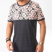 /achat-t-shirts/brave-soul-tee-shirt-floral-pearl-bleu-marine-210402.html