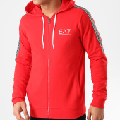 /achat-sweats-zippes-capuche/ea7-sweat-zippe-capuche-3hpm24-pj05z-rouge-210538.html