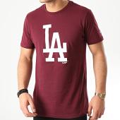 /achat-t-shirts/new-era-tee-shirt-mlb-seasonal-team-logo-los-angeles-dodgers-12195430-bordeaux-210348.html