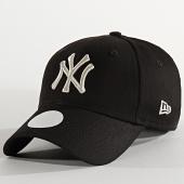 /achat-casquettes-de-baseball/new-era-casquette-femme-9forty-metallic-12285203-new-york-yankees-noir-argente-210364.html