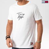 /achat-t-shirts/tommy-hilfiger-tee-shirt-logo-1787-blanc-210390.html