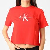 /achat-t-shirts/calvin-klein-jeans-tee-shirt-crop-femme-monogram-modern-3692-orange-210666.html