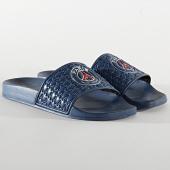 /achat-claquettes-sandales/psg-claquettes-749210-61-bleu-marine-210694.html
