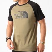 /achat-t-shirts/the-north-face-tee-shirt-raglan-easy-a37fv-vert-kaki-noir-210699.html