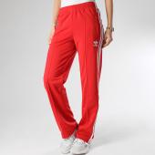 /achat-pantalons-joggings/adidas-pantalon-jogging-femme-a-bandes-firebird-fm3266-rouge-210731.html