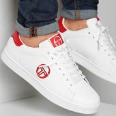 /achat-baskets-basses/sergio-tacchini-baskets-gran-torino-ltx-stm014000-white-red-210725.html