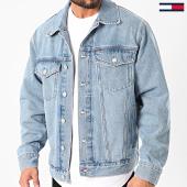 /achat-vestes-jean/tommy-hilfiger-jeans-veste-jean-oversize-trucker-8057-bleu-denim-210841.html