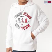 /achat-sweats-capuche/tommy-hilfiger-jeans-sweat-capuche-arched-graphic-7885-blanc-210756.html