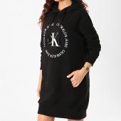 /achat-robes/calvin-klein-jeans-robe-sweat-capuche-femme-round-logo-3596-noir-211168.html