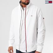 /achat-vestes/tommy-hilfiger-jeans-veste-zippee-essential-7366-blanc-211180.html