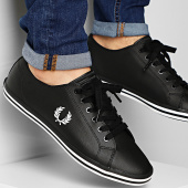 /achat-baskets-basses/fred-perry-baskets-kingston-leather-b7163-black-211390.html
