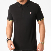 /achat-polos-manches-courtes/guess-polo-manches-courtes-m02p45-noir-211337.html