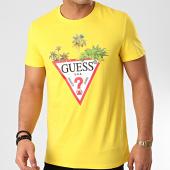 /achat-t-shirts/guess-tee-shirt-m0gi76-jaune-211354.html