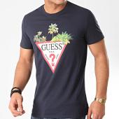 /achat-t-shirts/guess-tee-shirt-m0gi76-bleu-marine-211356.html