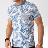 /achat-t-shirts-poche/mz72-tee-shirt-poche-tossen-bleu-clair-floral-211417.html