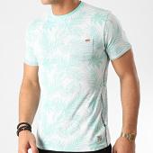 /achat-t-shirts-poche/mz72-tee-shirt-poche-tossen-vert-clair-floral-211420.html