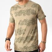 /achat-t-shirts/tokyo-laundry-tee-shirt-waiuku-vert-kaki-floral-211487.html