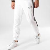 /achat-pantalons-joggings/ea7-pantalon-jogging-a-bandes-3hpp61-pj05z-blanc-211753.html