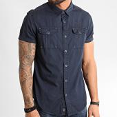 /achat-chemises-manches-courtes/mz72-chemise-manches-courtes-chock-bleu-marine-211602.html